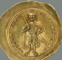 Nomisma histamenon of Isaac I Komnenos