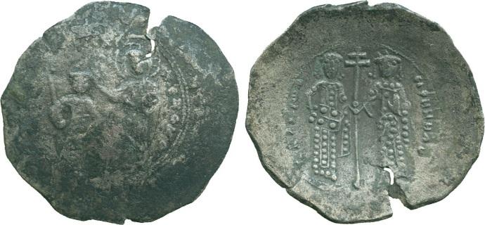A Billon Trachy of Alexios I (baldwin.co.uk)