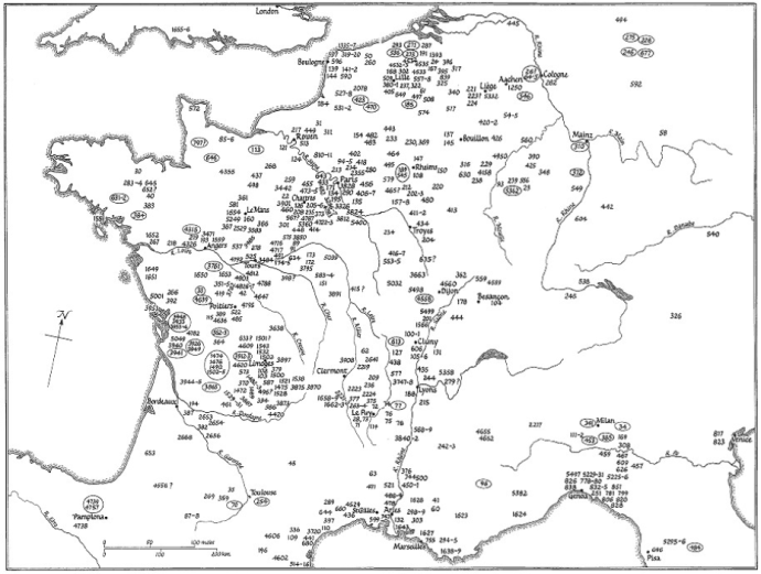 Recruitment for the First Crusade 1095-1103 from The First Crusaders by J. Riley-Smith