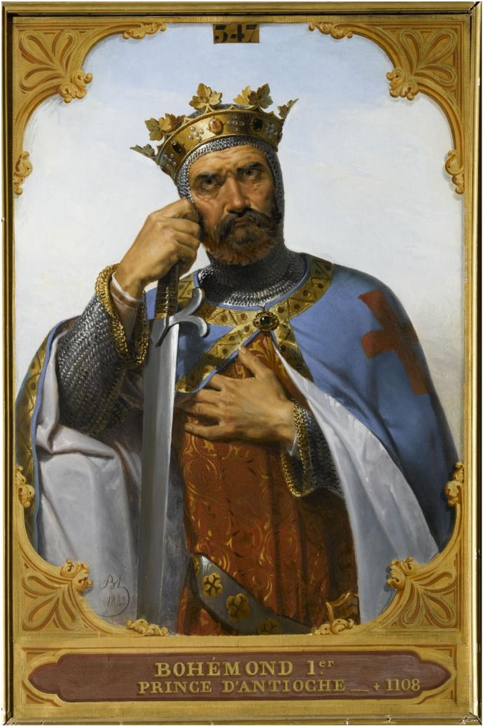 Bohemond of Antioch by Merry-Joseph Blondel c1800